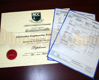 International Canada Fake Diploma and Transcript Package