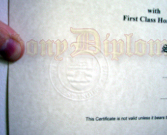 Clear Embossed Emblem (direct onto paper)